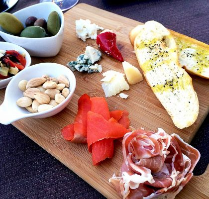 Antipasto Board at Ten Ten Tapas | tryhiddengems.com