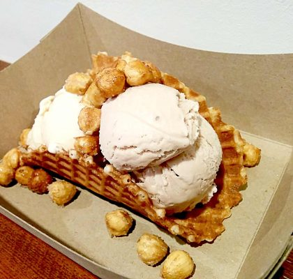 Ice Cream Taco at Rain or Shine | tryhiddengems.com