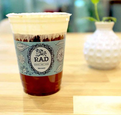 Winter Melon Milk Tea Cap at RAD Tea Room | tryhiddengems.com