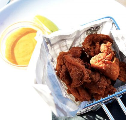 Chicken Karaage at Pat Quins Golf Club | tryhiddengems.com