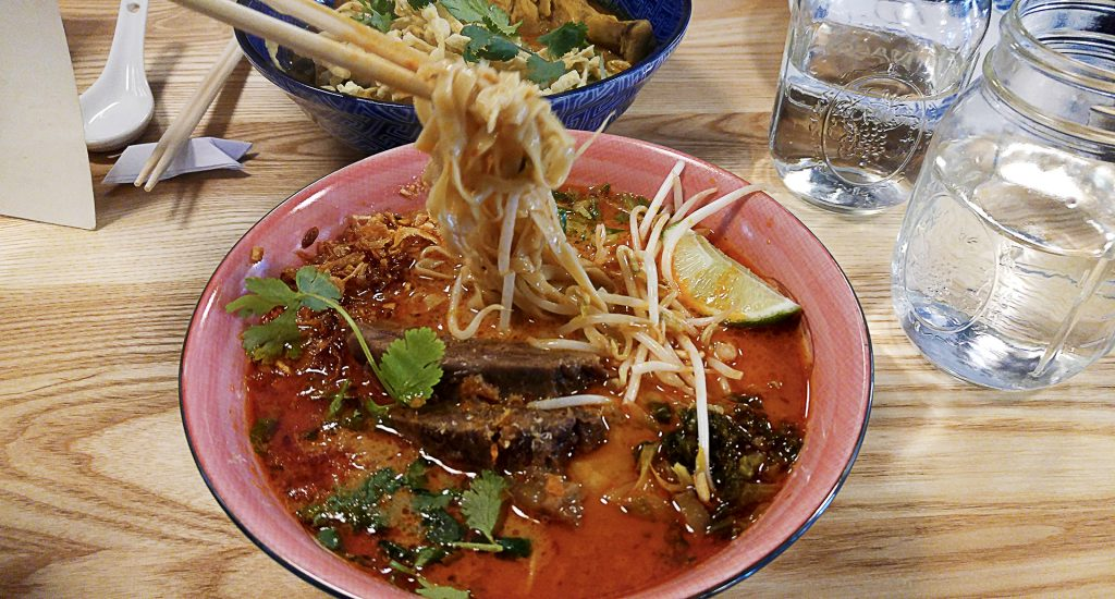Beef Laksa at Fat Mao | tryhiddengems.com