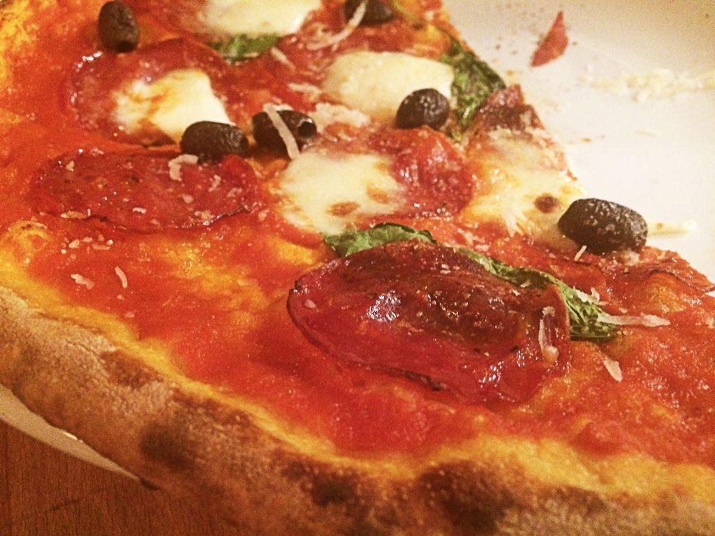 Pizza Picante at Il Castello Pizzeria | tryhiddengems.com