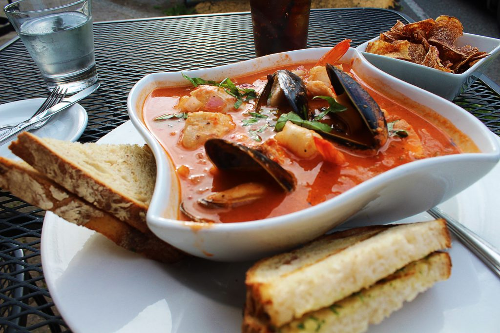 Seafood Cioppino at The Cabin | tryhiddengems.com