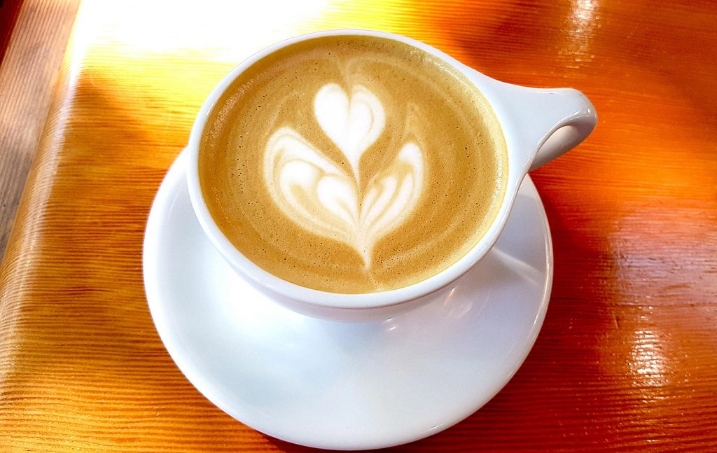 Vanilla Cappuccino at Off The Tracks | tryhiddengems.com