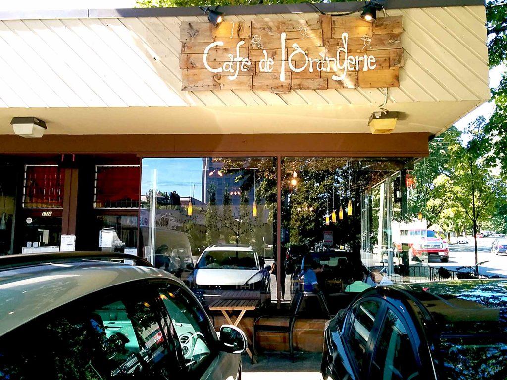 Zunda Dango Parfait | Cafe de l'Orangerie