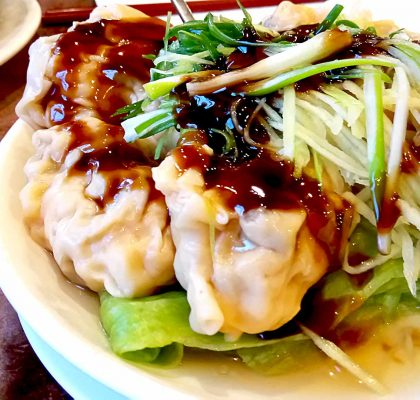 Dumplings with Oyster Sauce | tryhiddengems.com