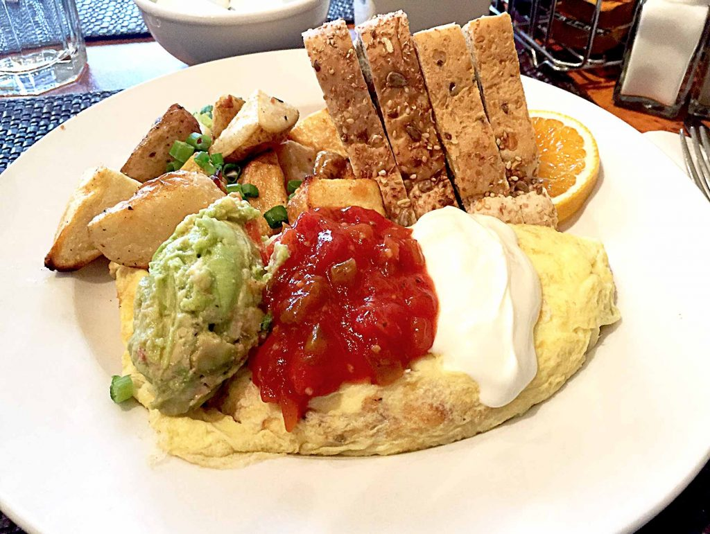 Mexican Omlette at Cindy's | tryhiddengems.com