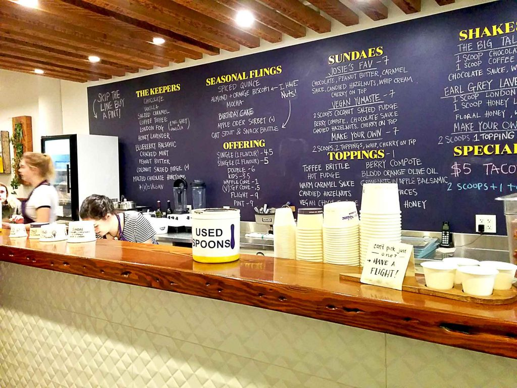 Rain or Shine Ice Cream - Bubble Waffle Ice Cream Shop - Vancouver