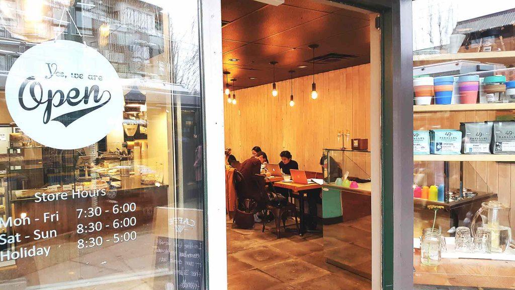 Caffe W - Coffee Shop - Vancouver