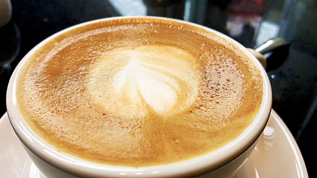 Cappuccino at Incognito Cafe