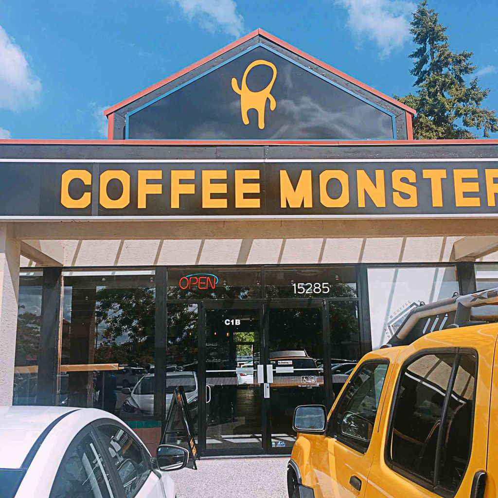 coffee monster surrey