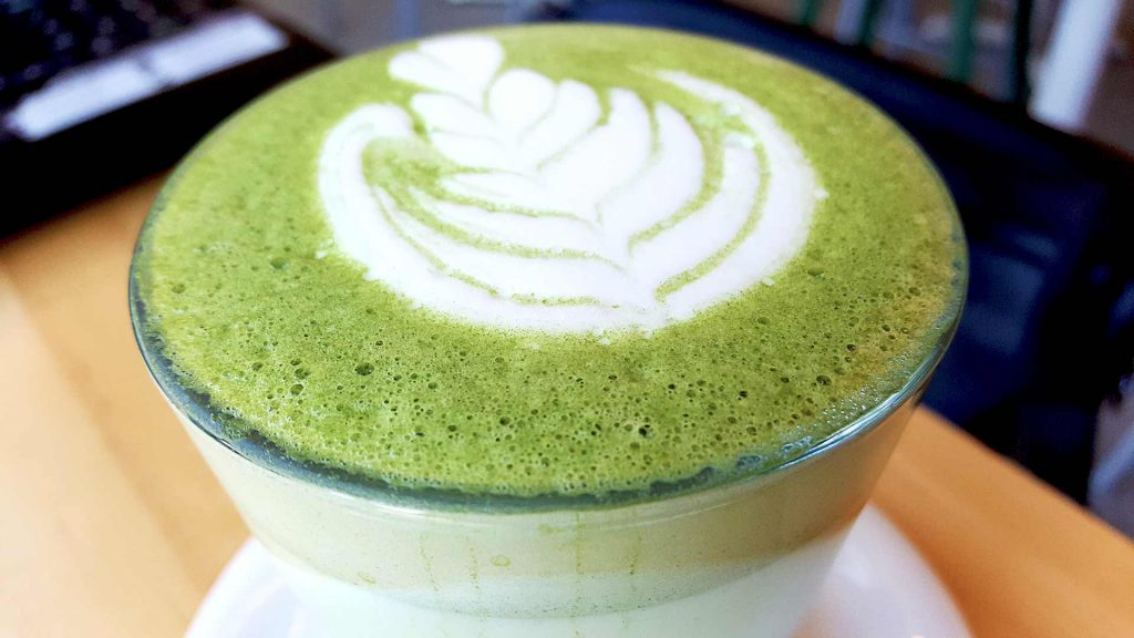 Matcha Latte at Kahve | Hidden Gems Vancouver