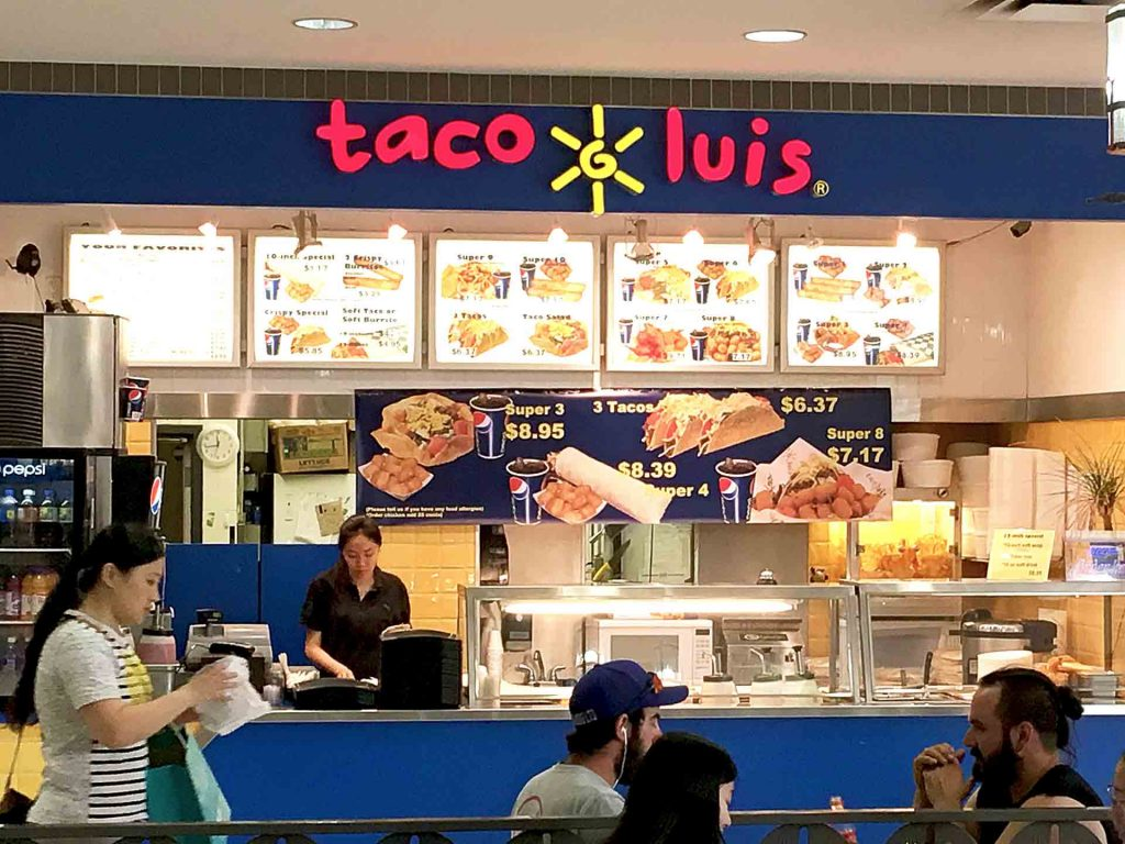 Taco Luis - Mexican Fast Food Restaurant - Oakridge - Vancouver