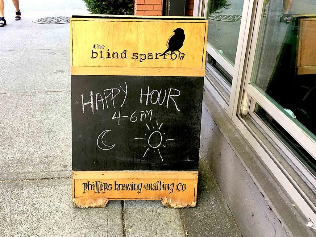The Blind Sparrow - Canadian Craft Beer Gastropub - West End Vancouver - Vancouver