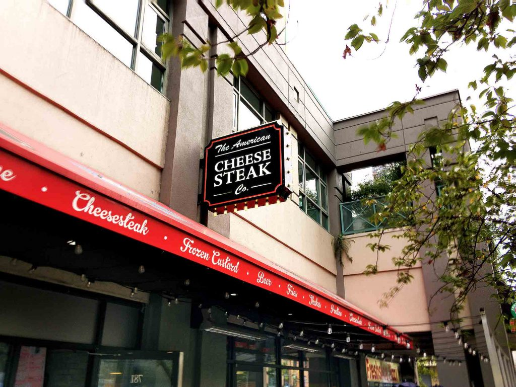 American Cheesesteak Company - Fast Food Restaurant - Downtown Vancouver - Vancouver