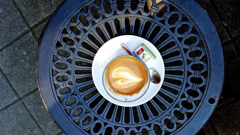 Cortado at Caffe Cittadella | tryhiddengems.com