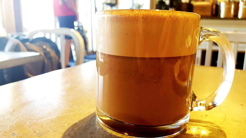 Hazelnut Mocha at Grounds for Coffee | tryhiddengems.com