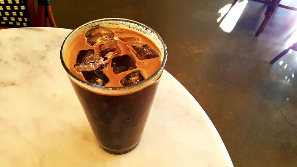 Iced Americano at TrafiQ | tryhiddengems.com