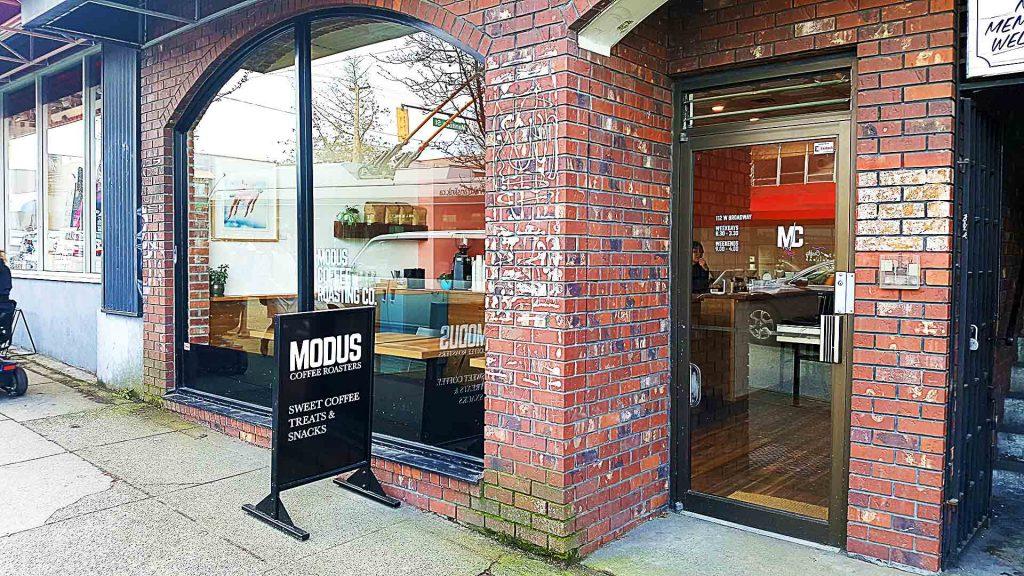 Modus Coffee Roasting Company - Vancouver Local Coffee Shop - Mount Pleasant - Vancouver