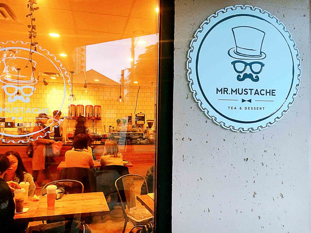 Mr. Mustache - Taiwanese Dessert Shop - Metrotown Burnaby - Vancouver