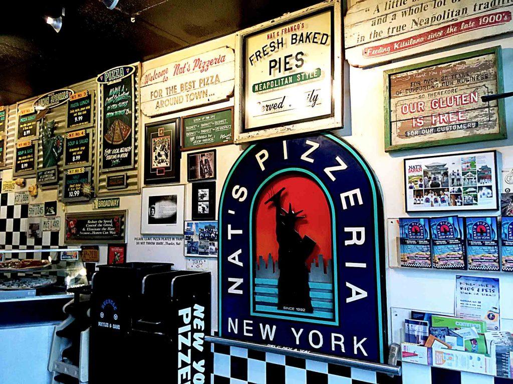Nat's New York Pizzeria - Italian Pizza Shop - Kitsilano - Vancouver