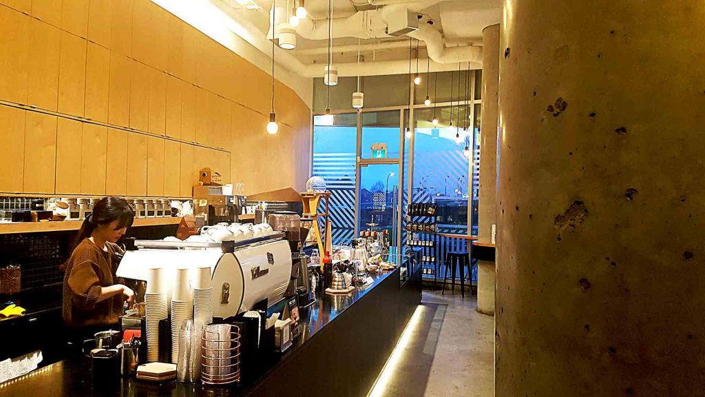 Porto Cafe - Vancouver Local Coffee Shop - False Creek - Vancouver