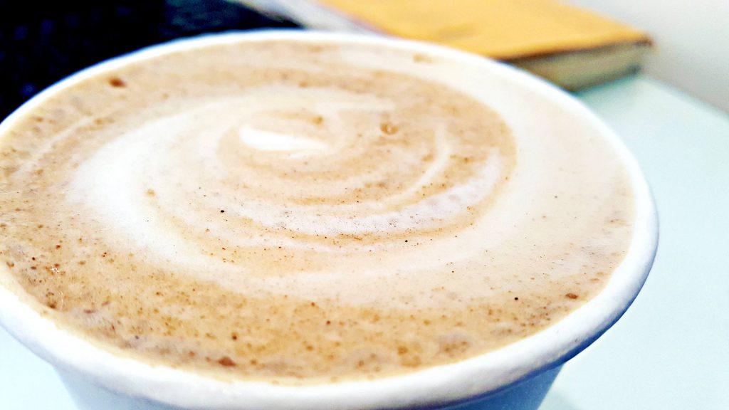 Pumpkin Pie Latte at Baker & Table Café | tryhiddengems.com