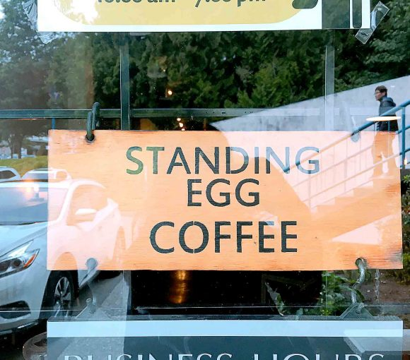 Standing Egg Coffee - Korean Coffee Shop - Burnaby North Road - Vancouver