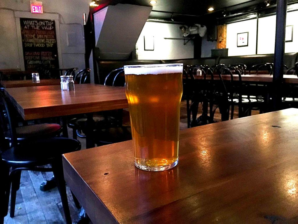 Strange Fellow's Talisman West Coast Pale Ale at The Whip Restaurant & Gallery | tryhiddengems.com