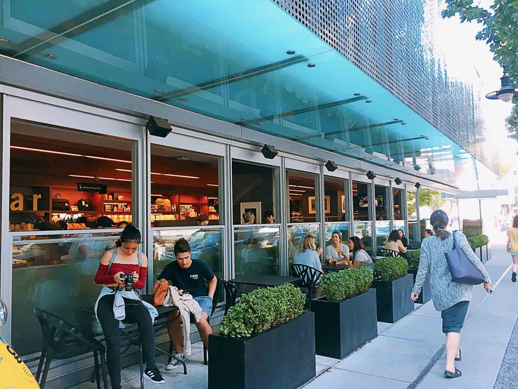 giovane cafe + eatery + market - Italian Coffee Shop - Coal Harbour Pacific Rim - Vancouver