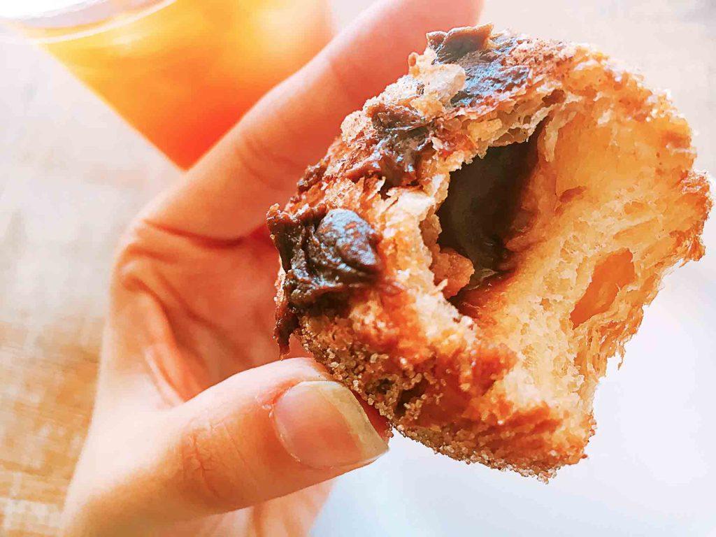 Salted Caramel Frissant at Swiss Bakery | tryhiddengems.com