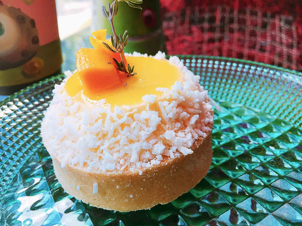 Tropical Tart at Laurence and Chico Cafe | tryhiddengems.com