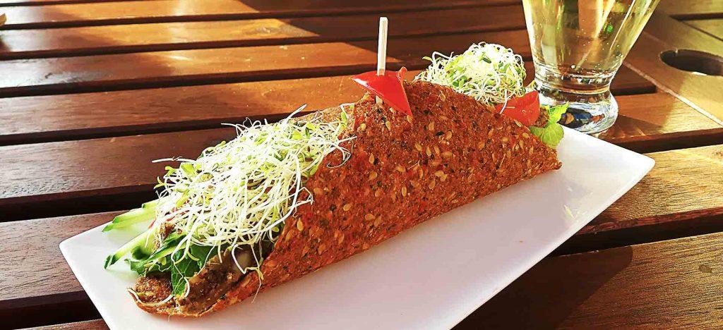 Gaia Burger at Cafe by Tao   tryhiddengems.com