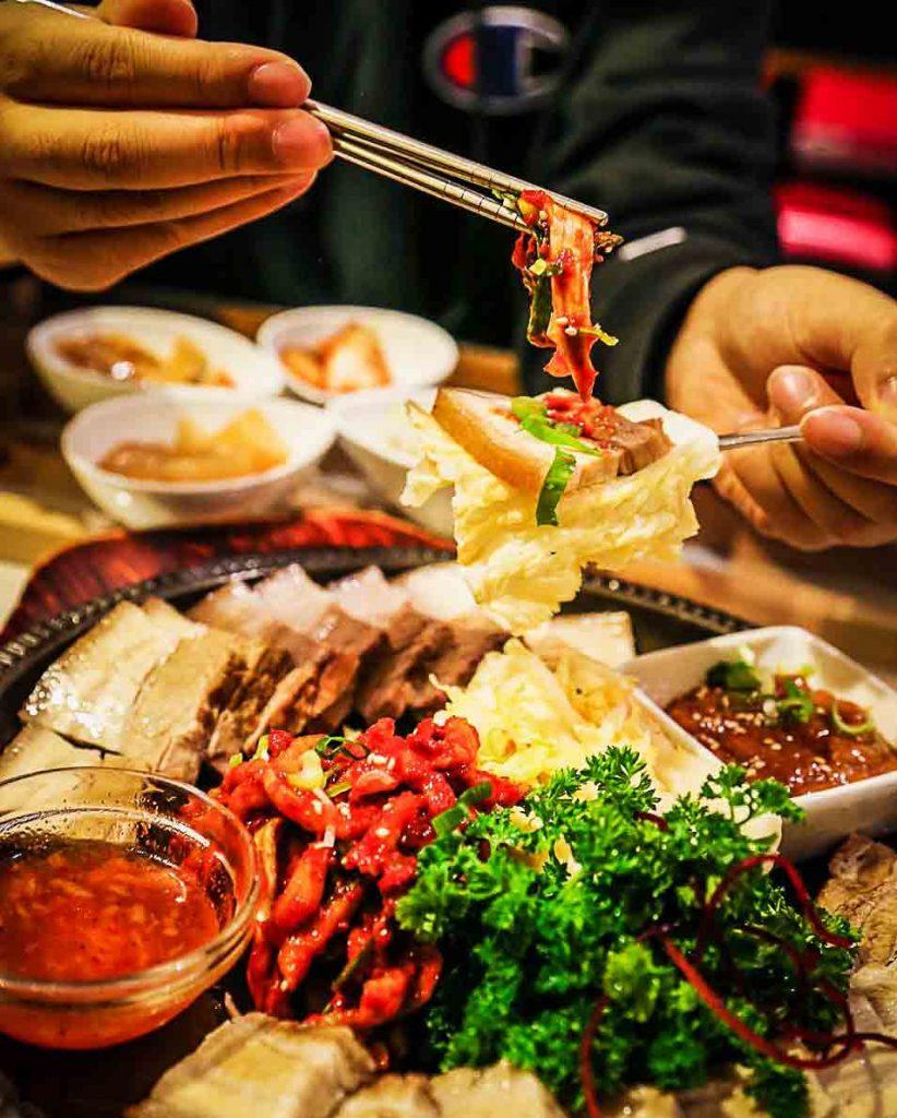 Bo Ssam at So Hyang Korean Cuisine | Hidden Gems Vancouver