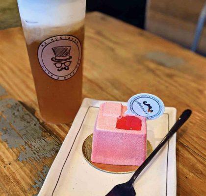 Oolong Mousse Macchiato at Mr Mustache Bubble Tea | Hidden Gems Vancouver