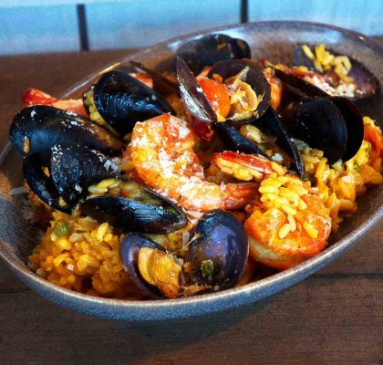 Paella at SeaHorse Grill | Hidden Gems Vancouver