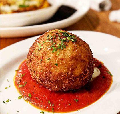 Arancina Bomba at Mangia Cucina & Bar | Hidden Gems Vancouver