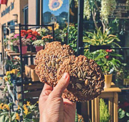 Vegan Tree Hugger Cookie at Aperture Coffee Bar | Hidden Gems Vancouver