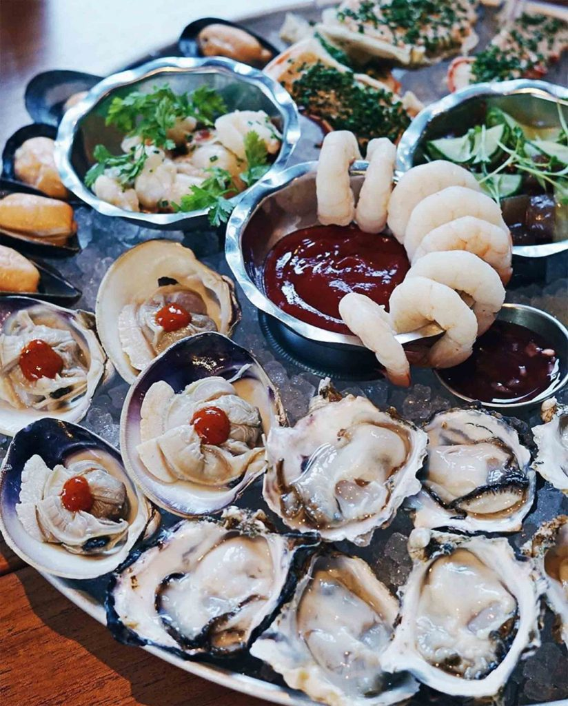 Captain's Platter at Coquille Restaurant | Hidden Gems Vancouver