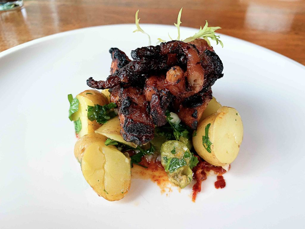 Charred Octopus at Terroir Kitchen - Hidden Gems Vancouver