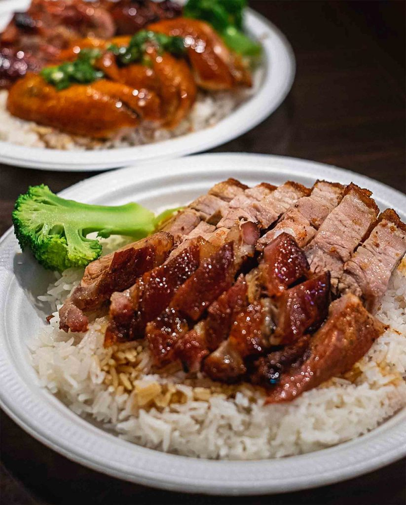 Roast Pork and BBQ Pork on Rice at HK BBQ Master | Hidden Gems Vancouver