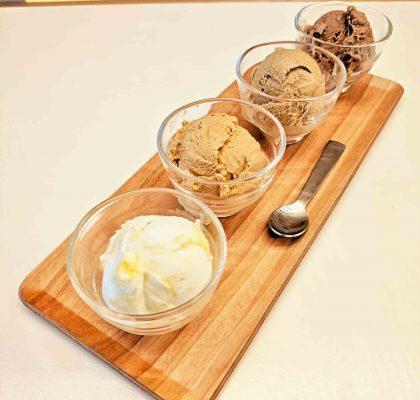 Mango Coconut Sticky Rice Ice Cream | Elephant Garden Creamery | Vancouver