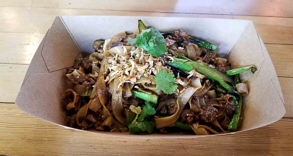Pad See Yew at Longtail Kitchen   Hidden Gems Vancouver