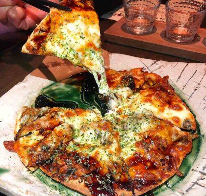 Unagi Pizza | Suika Japanese Restaurant | Vancouver
