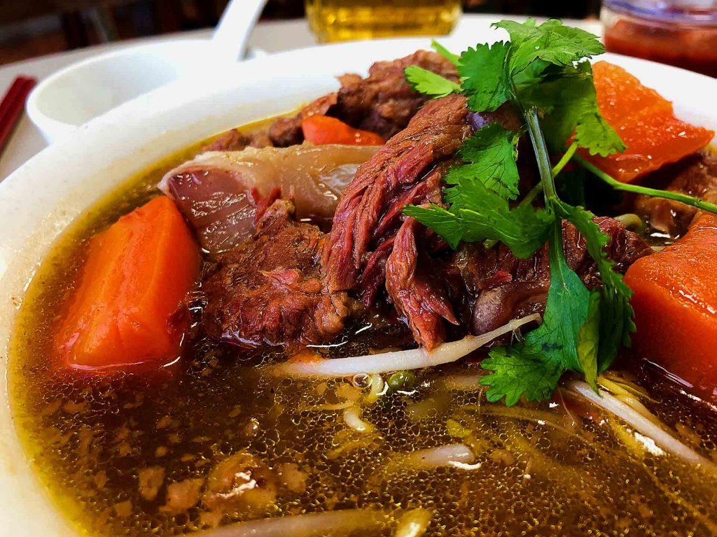Beef Noodle Stew at Au Petit Cafe | Hidden Gems Vancouver