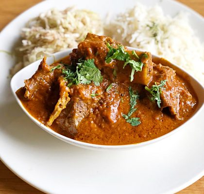 Beef Shortribs Cream Curry