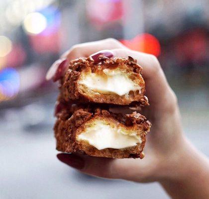 Crunchy Cream Puff | BAKE49 | Yaletown, Vancouver
