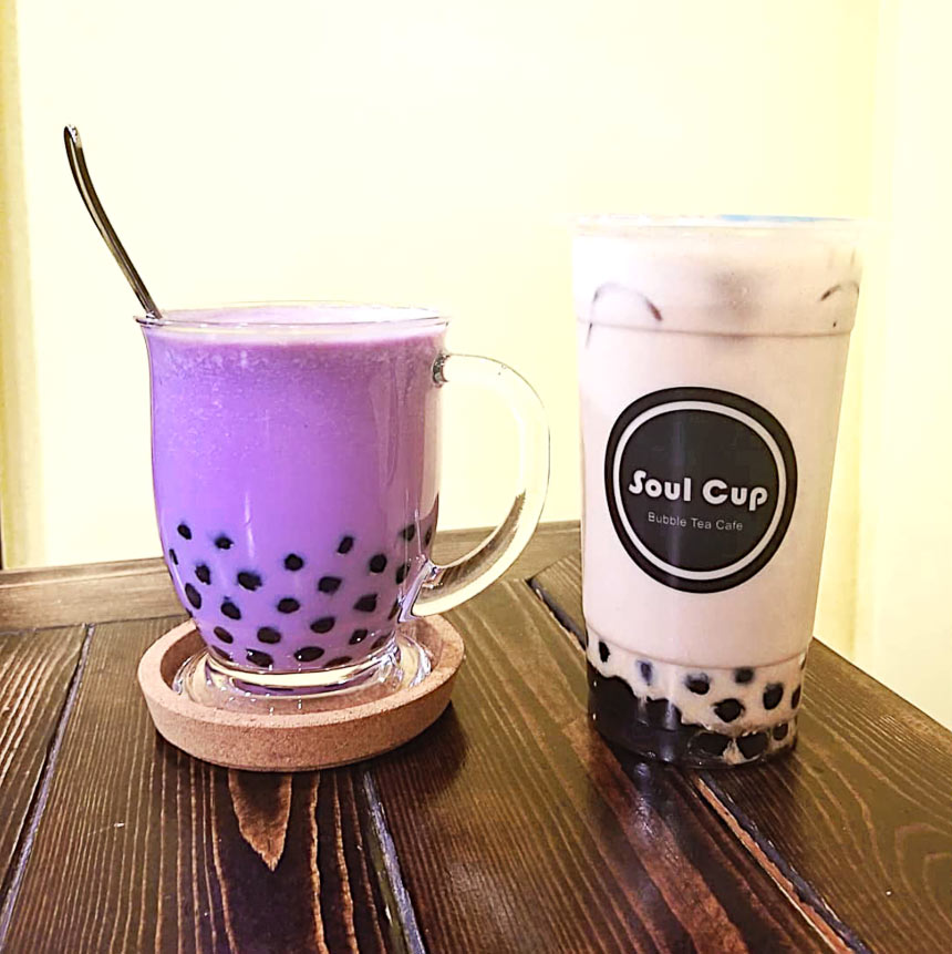 Earl Grey Milk Tea at Soul Cup Cafe | Hidden Gems Vancouver