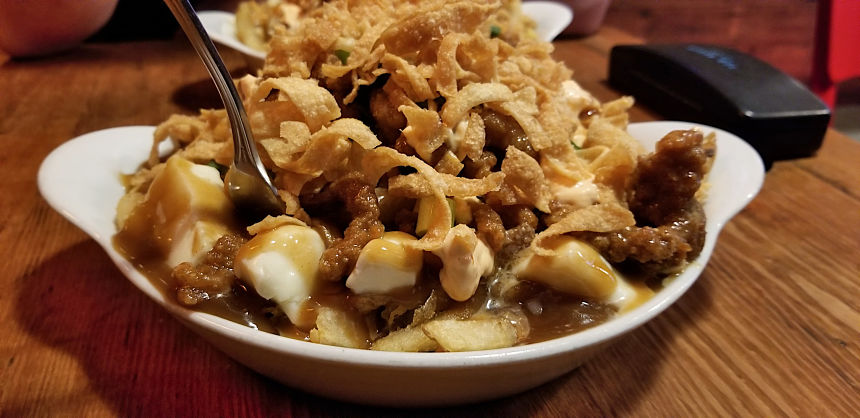 Night Market Poutine at Spud Shack Fry Co   Hidden Gems Vancouver