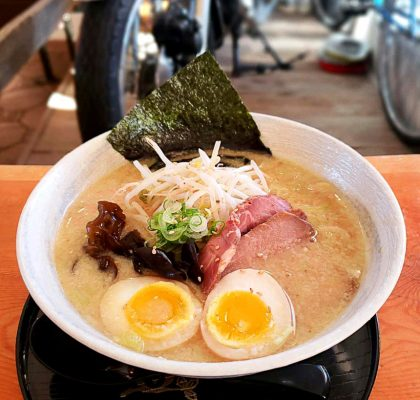 Miso Ramen at G-Men at Steveston Ramen Shop | Hidden Gems Vancouver